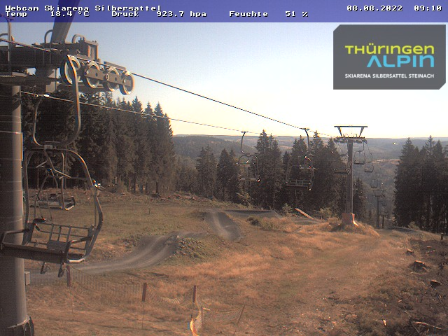 Webcam Skiarena Silbersattel Fellbergplateau