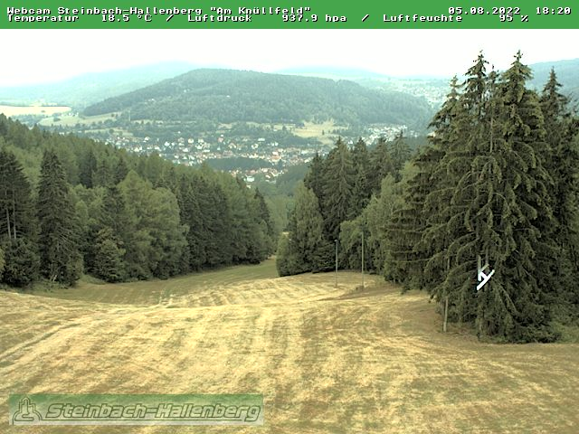 Webcam Ski Resort Steinbach-Hallenberg Thuringian Forest