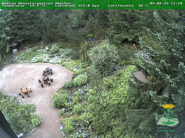 Webcam Rennsteiggarten