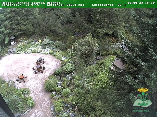 Webcam Skigebiet Oberhof Rennsteiggarten - Th�ringer Wald