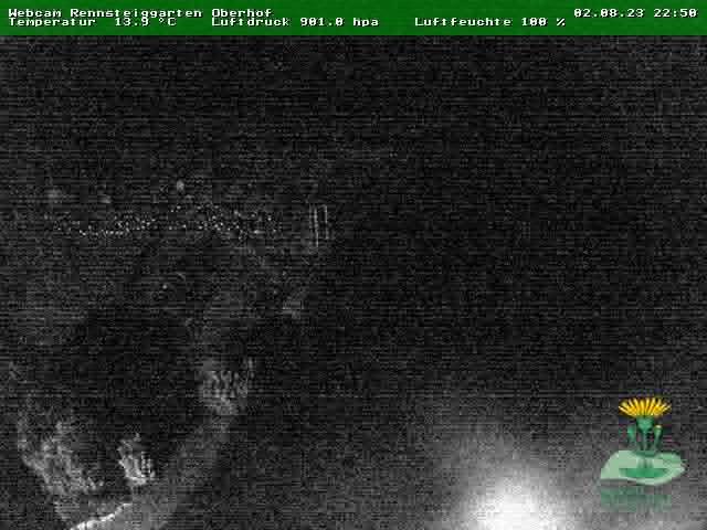 Webcam Skigebiet Oberhof Rennsteiggarten - Thüringer Wald