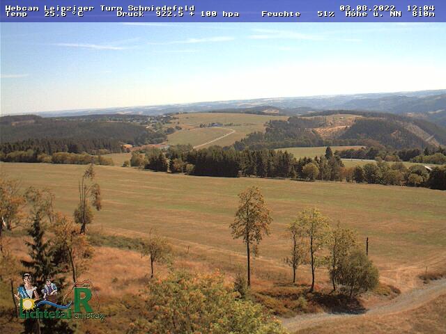Webcam Skigebiet Schmiedefeld am Rennsteig cam 2 - Th�ringer Wald
