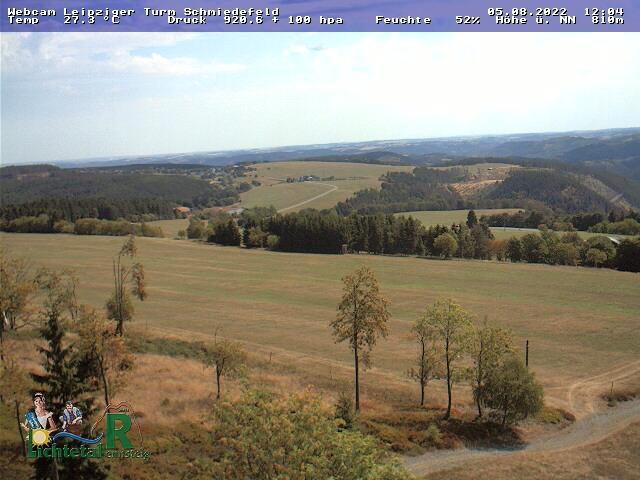 Webcam Ski Resort Schmiedefeld am Rennsteig cam 2 - Thuringian Forest