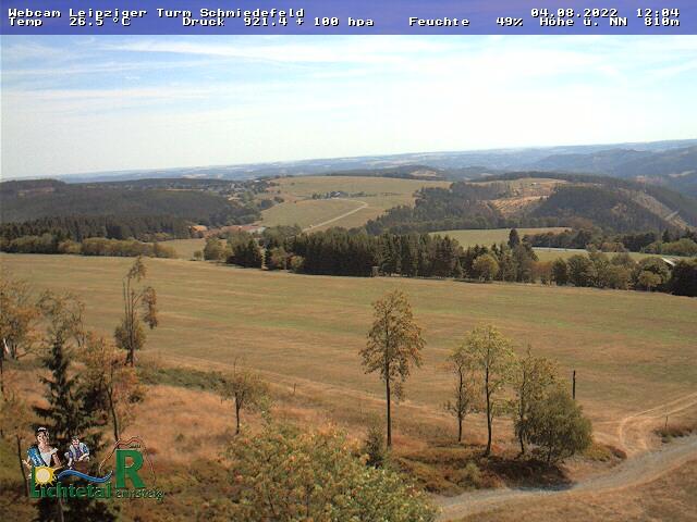 Webcam Skigebied Schmiedefeld am Rennsteig cam 2 - Thüringer Woud