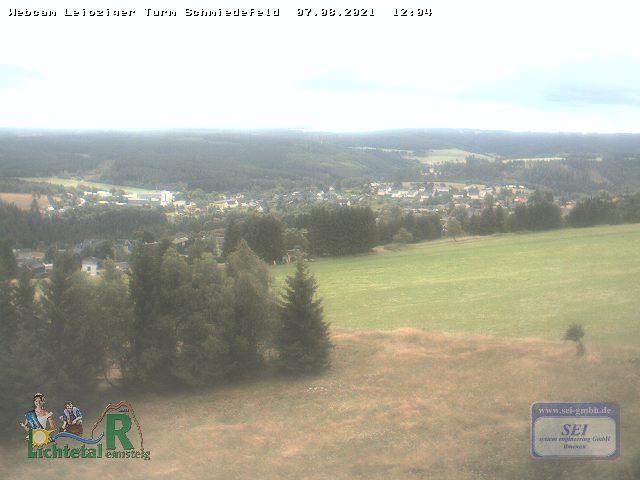 Webcam Ski Resort Schmiedefeld am Rennsteig Thuringian Forest
