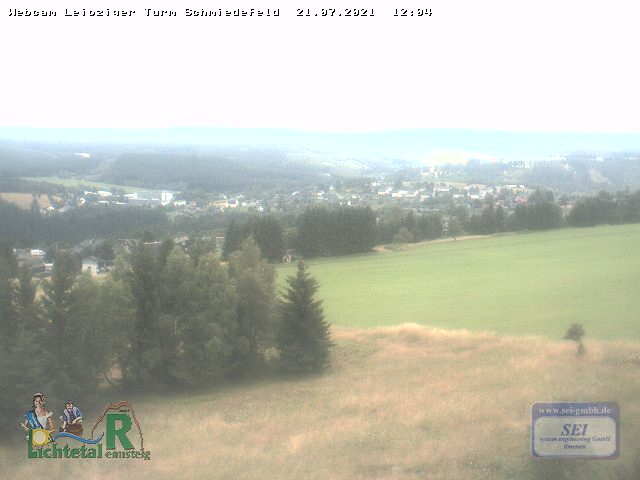 Webcam Skigebiet Schmiedefeld am Rennsteig Thüringer Wald
