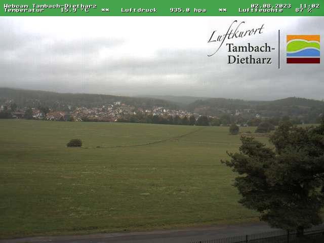 zur Webcam Tambach-Dietharz - www.thueringer-wald.com